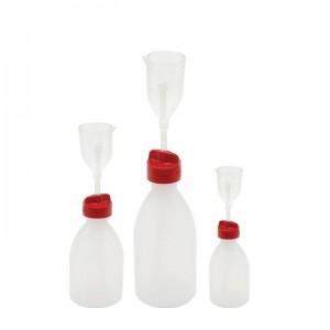 Бутылка-дозатор град. объема, ПЭ/ПМП, Kartell 250 мл / 50 мл