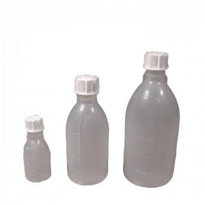 Бутылка узкогорлая градуированная 2000 мл, полиэтилен