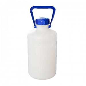 Бутылка узкогорлая градуированная 5000 мл, толстостенная, ПЭНД